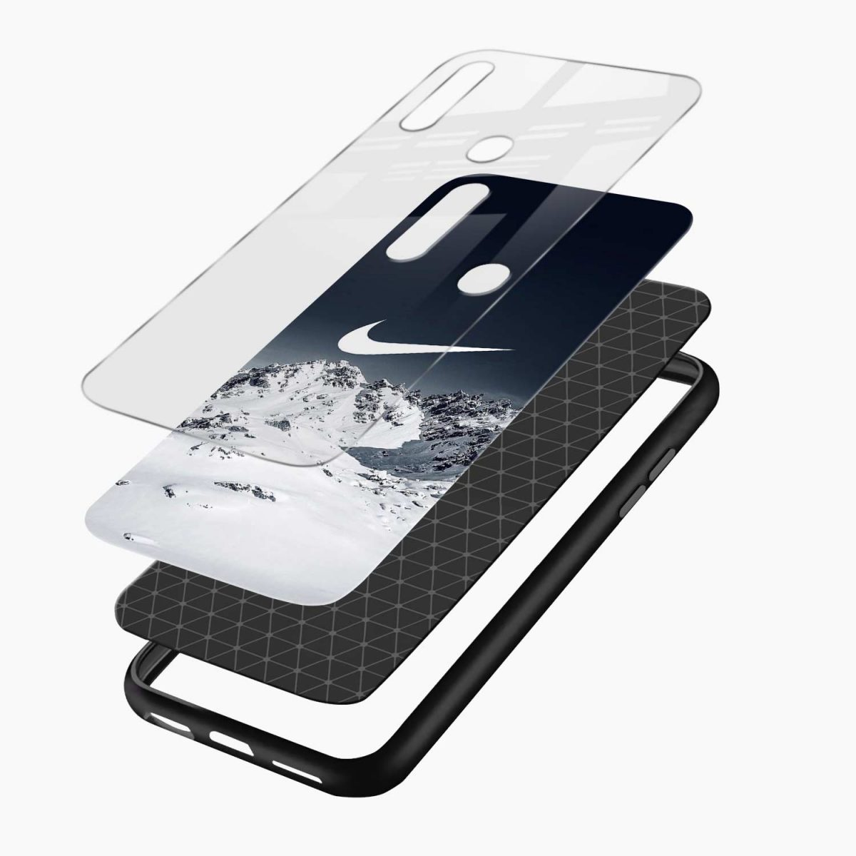 nike mountains layers view oppo a31 back cover