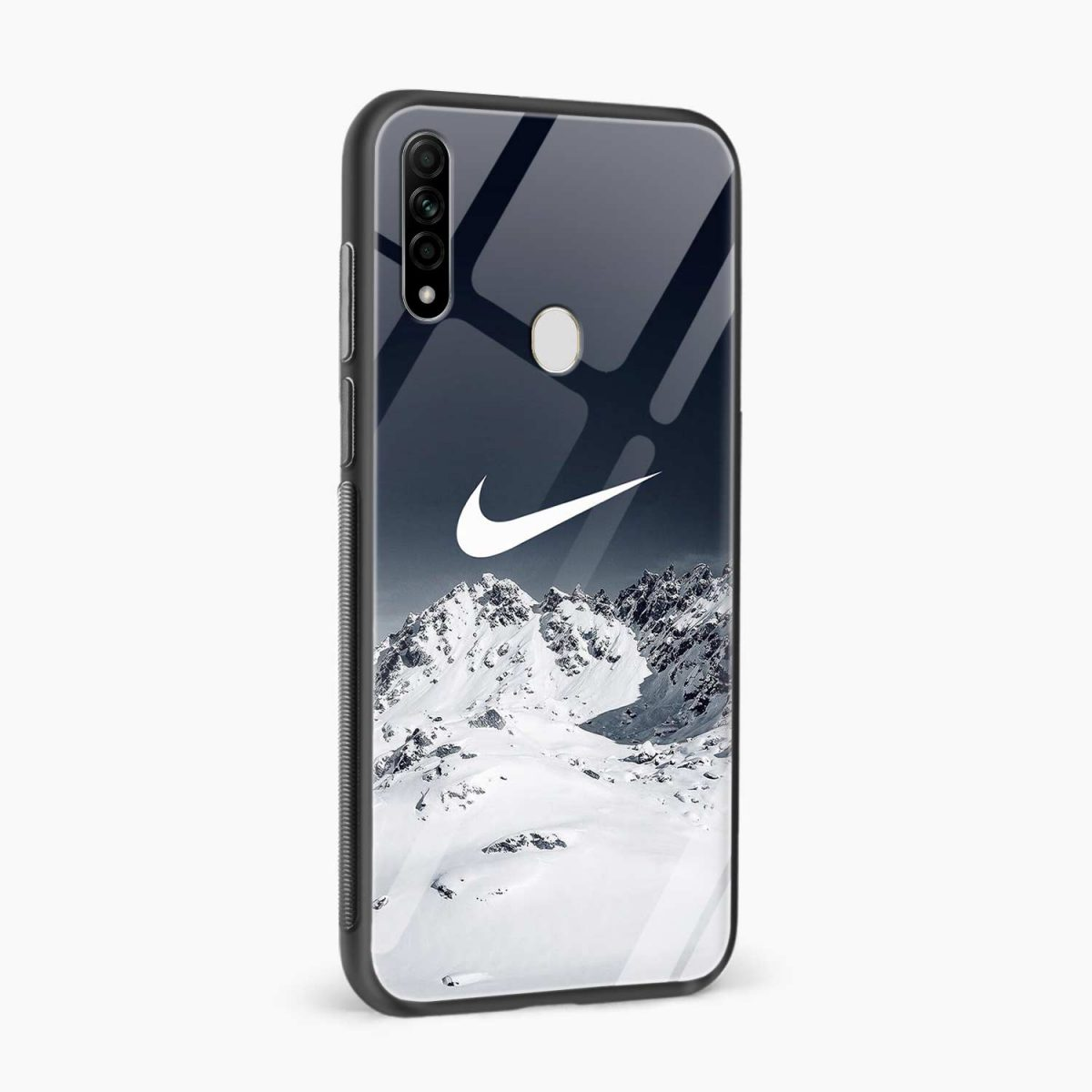 nike mountains side view oppo a31 back cover