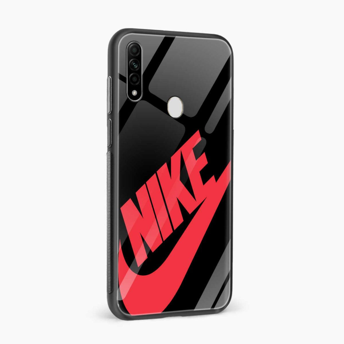 big red nike side view oppo a31 back cover