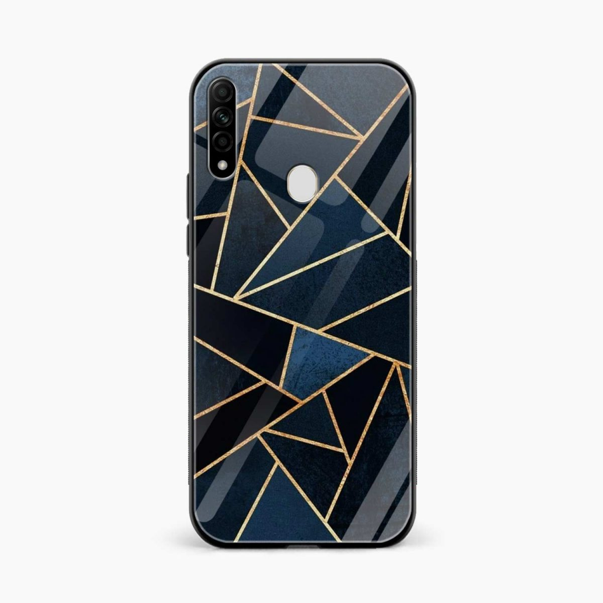 zig zag pattern front view oppo a31 back cover