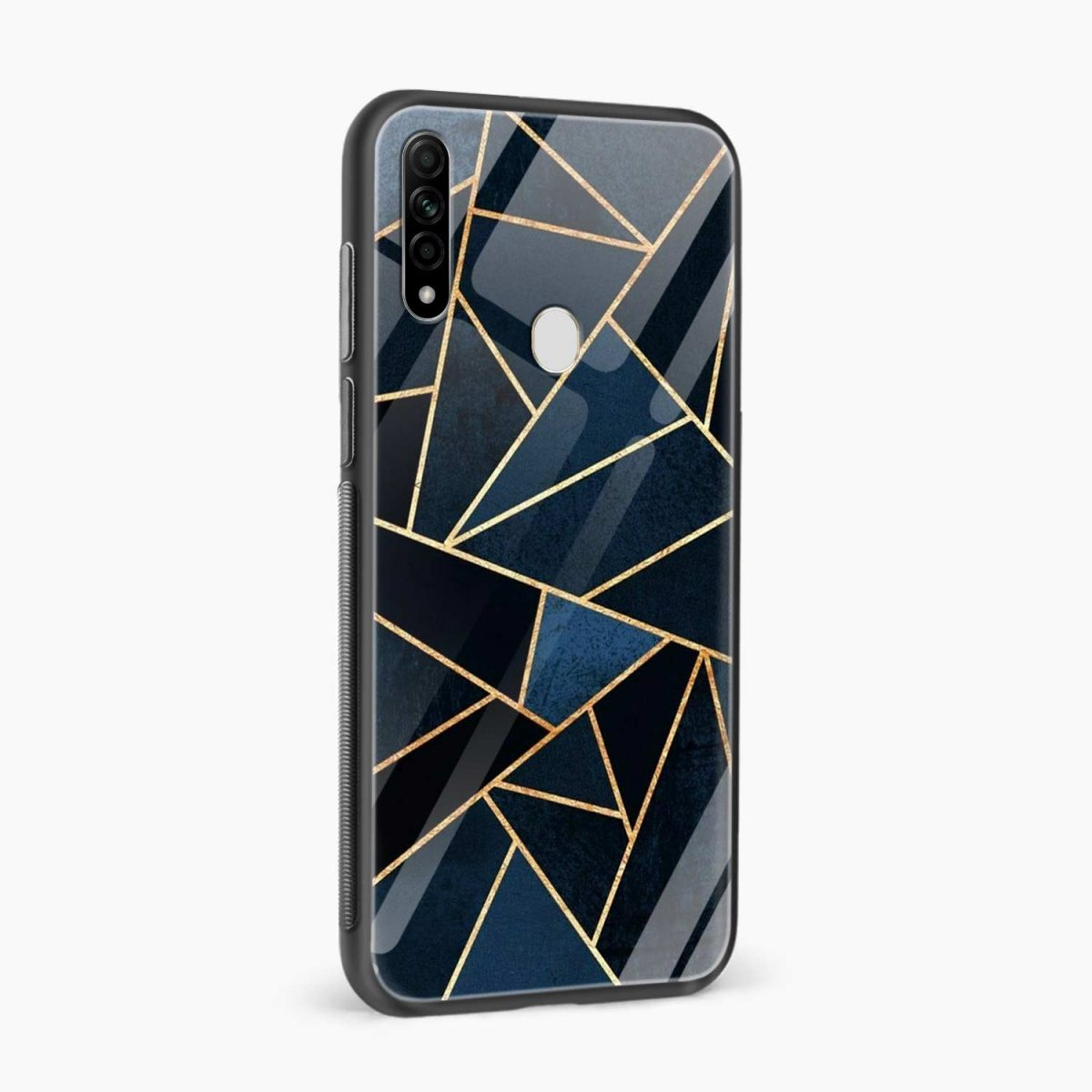 zig zag pattern side view oppo a31 back cover