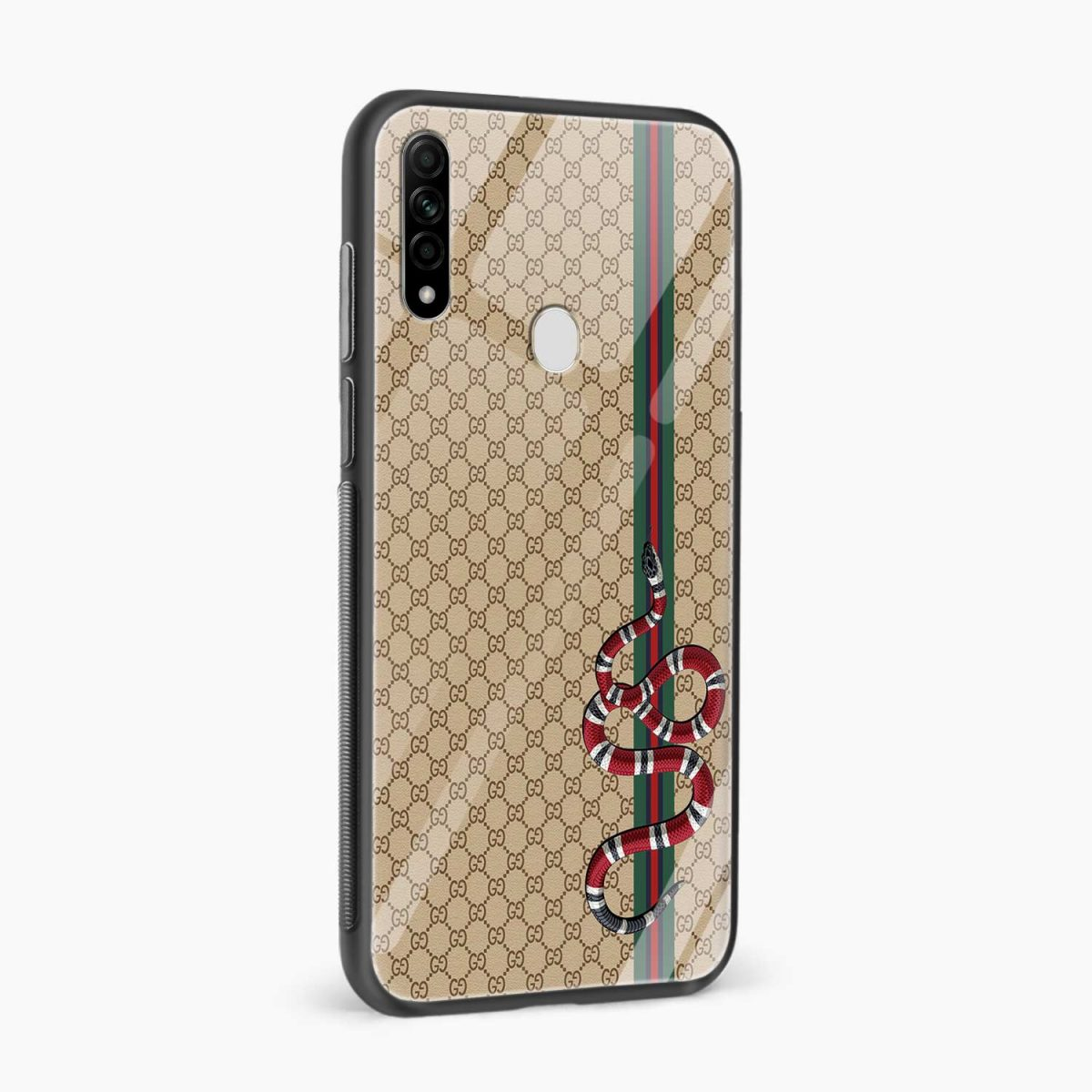 gucci snake pattern side view oppo a31 back cover