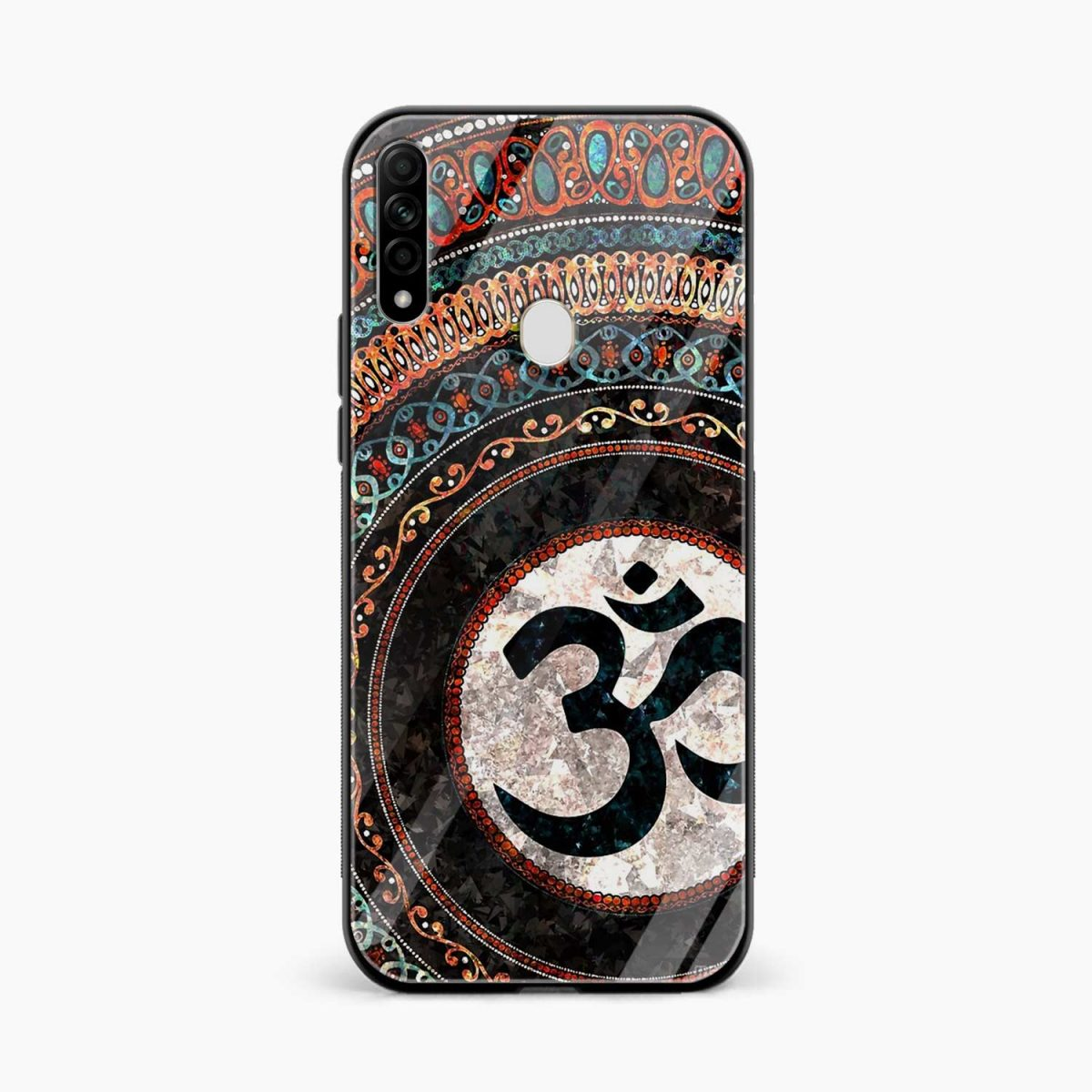 om glass front view oppo a31 back cover