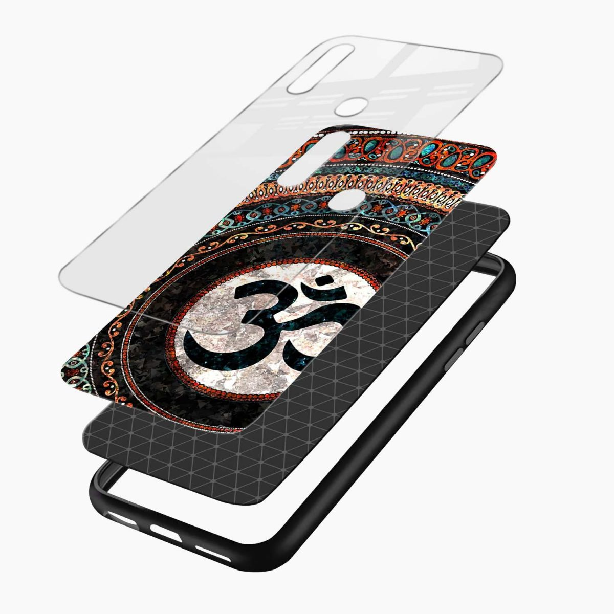om glass layers view oppo a31 back cover