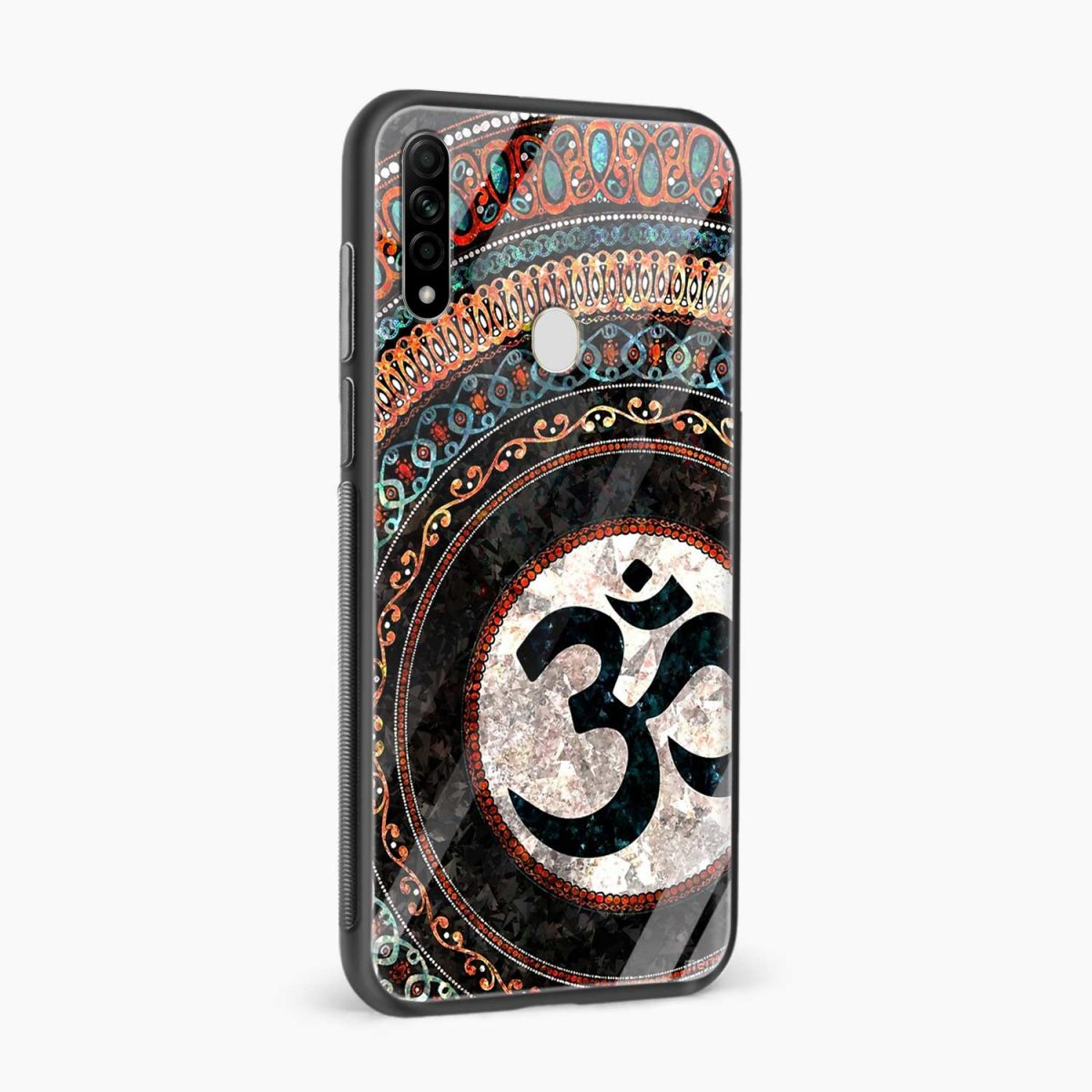 om glass side view oppo a31 back cover
