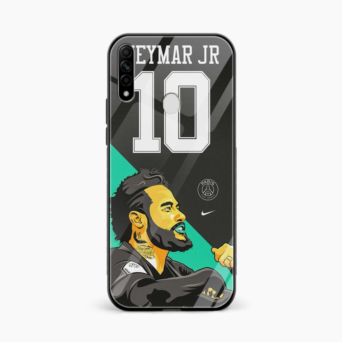 neymar jr 10 front view oppo a31 back cover
