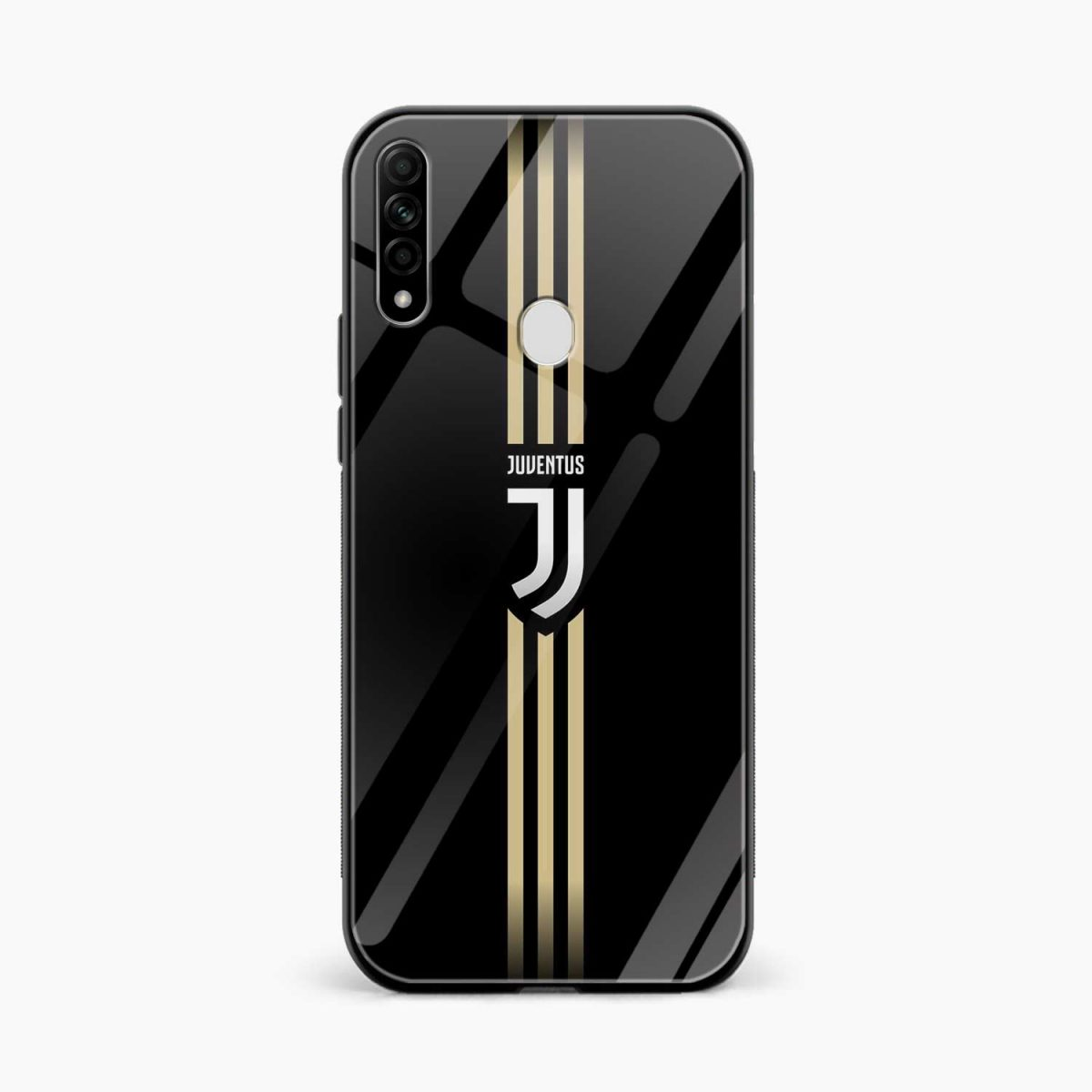 juventus golden strips front view oppo a31 back cover