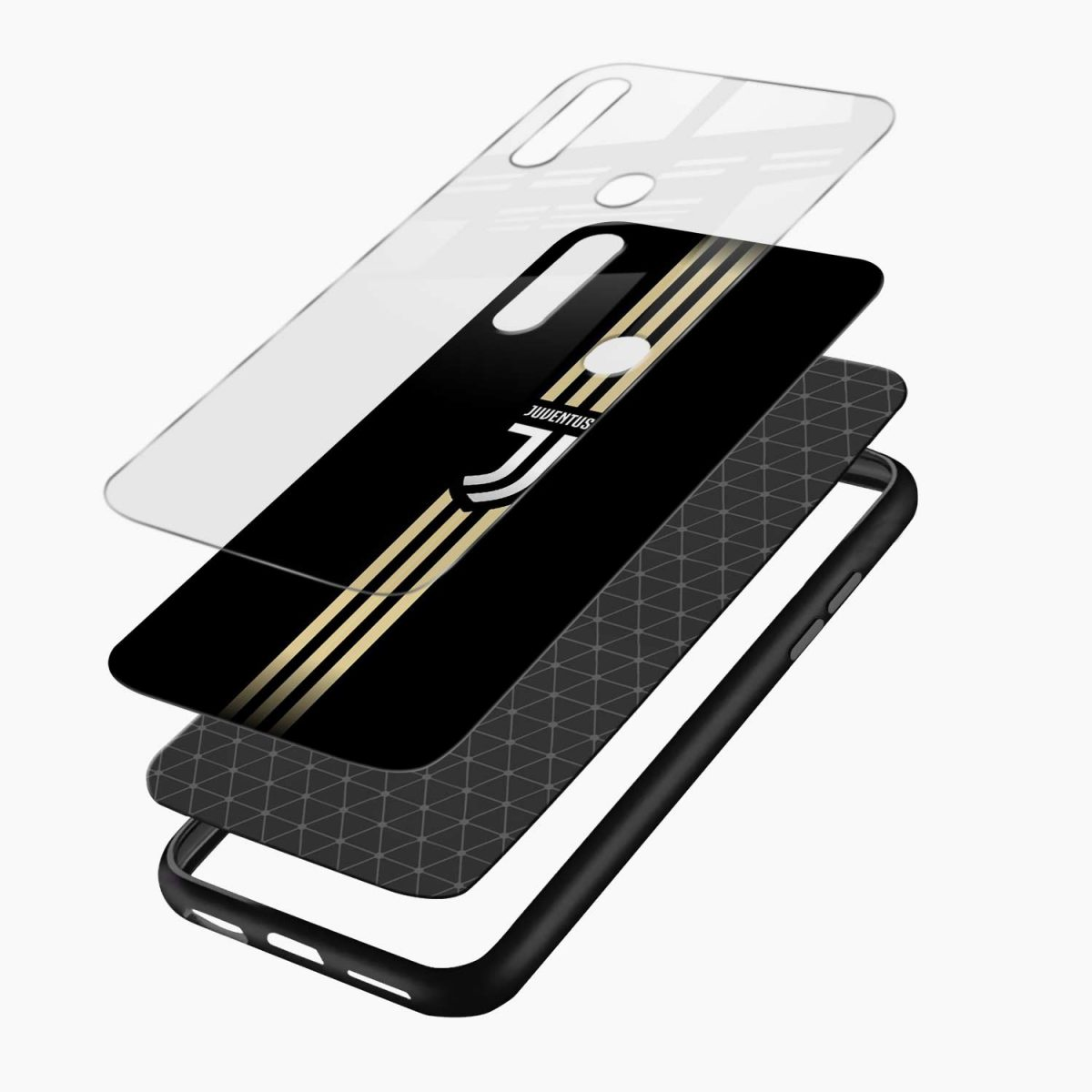 juventus golden strips layers view oppo a31 back cover