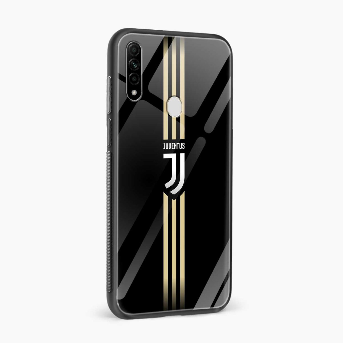 juventus golden strips side view oppo a31 back cover