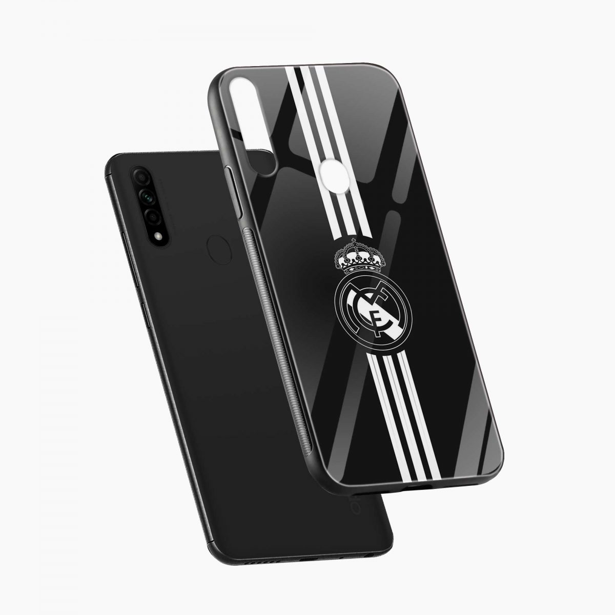 real madrid cf diagonal view oppo a31 back cover