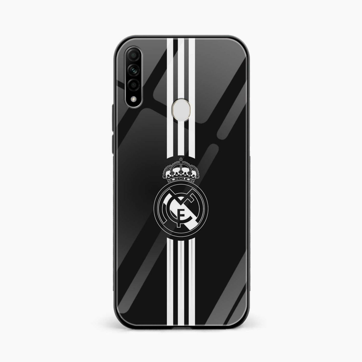 real madrid cf front view oppo a31 back cover