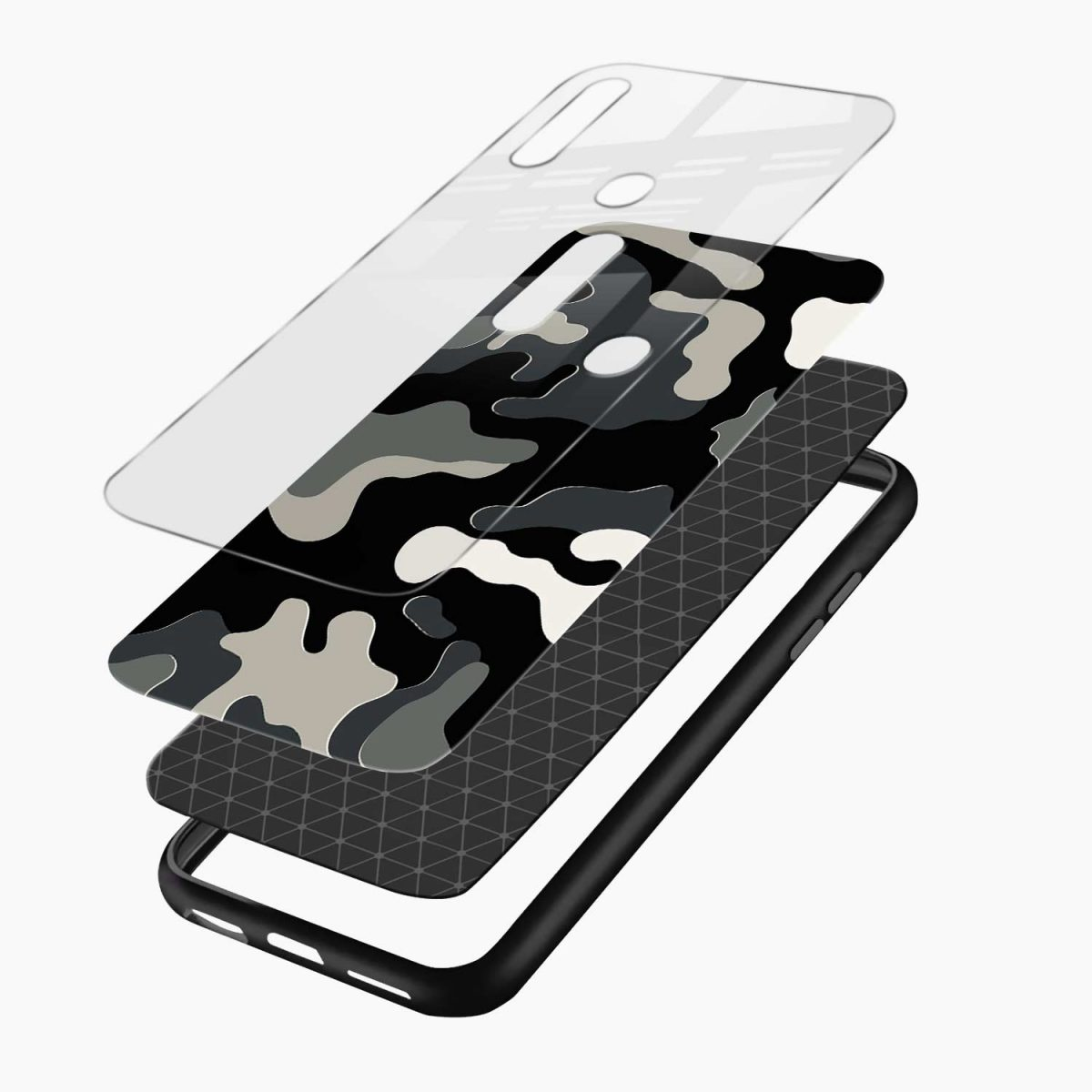 comoulfage pattern layers view oppo a31 back cover
