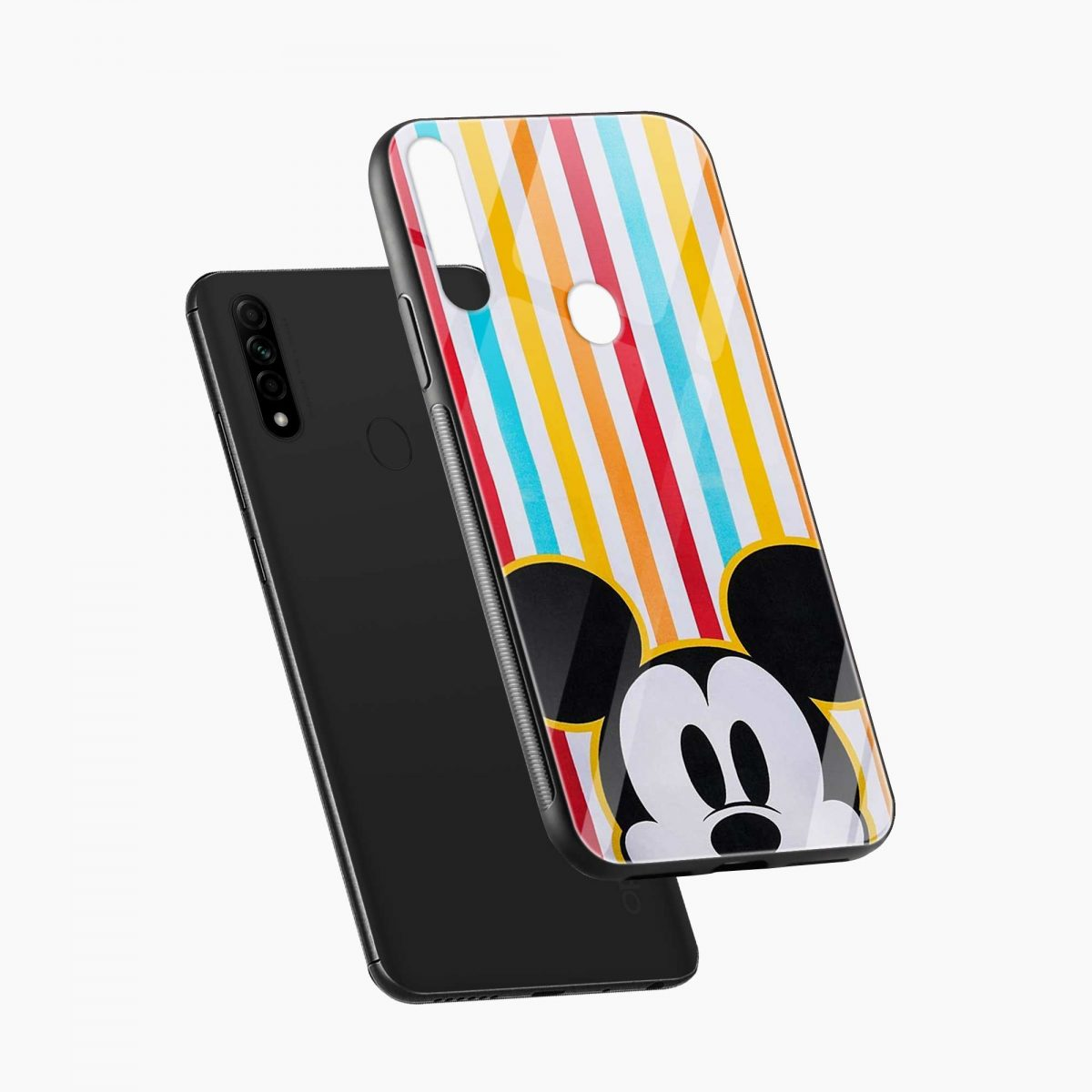 rigid spy mickey mouse diagonal view oppo a31 back cover