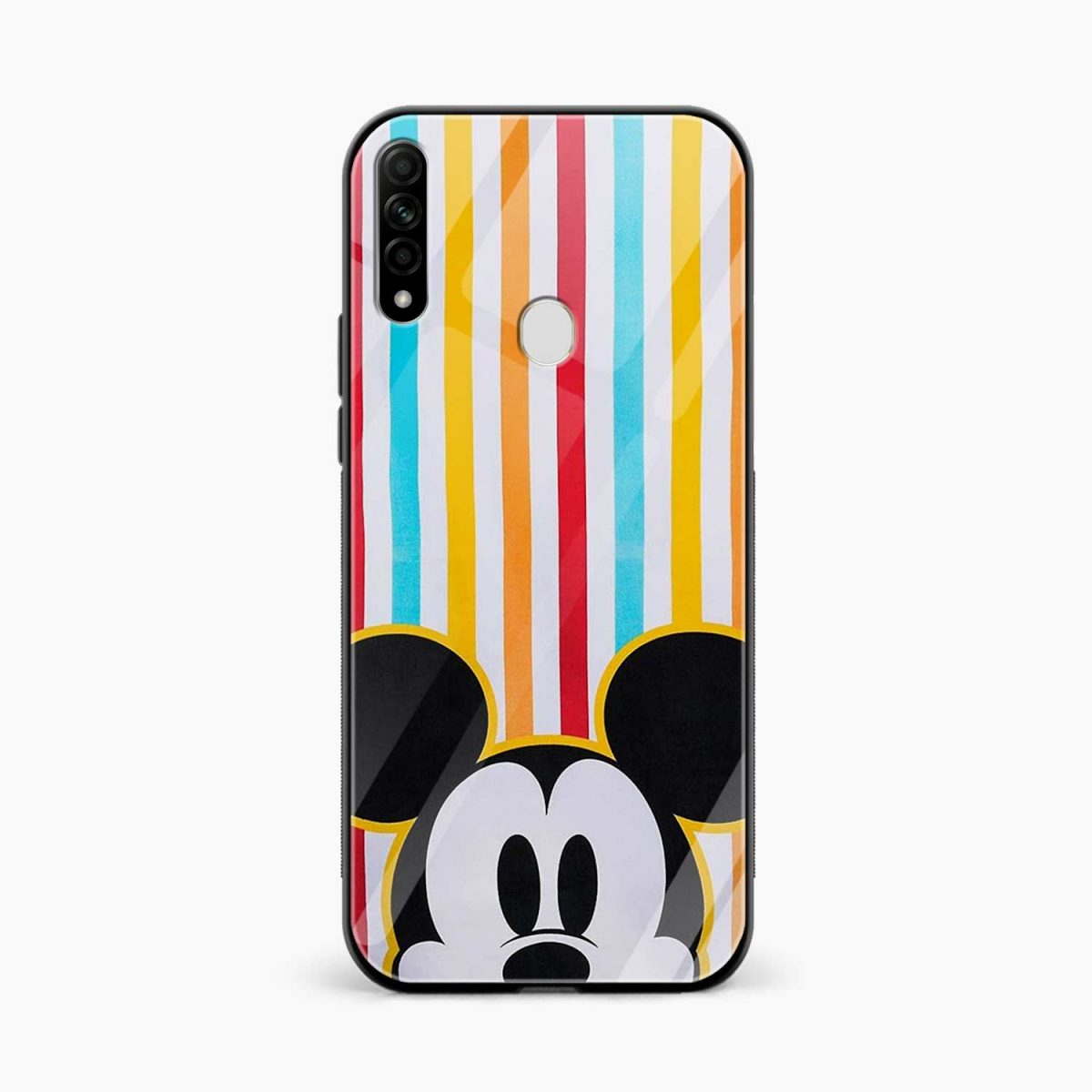 rigid spy mickey mouse front view oppo a31 back cover