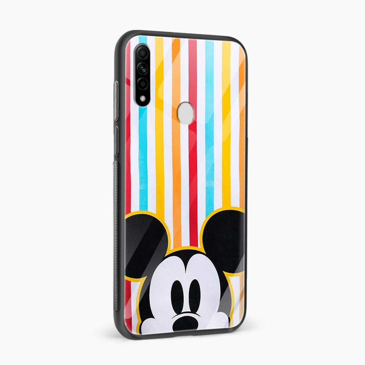 rigid spy mickey mouse side view oppo a31 back cover