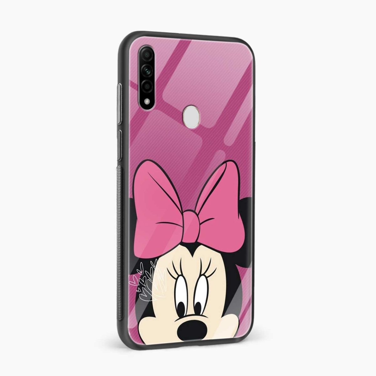 disney minnie cartoon side view oppo a31 back cover