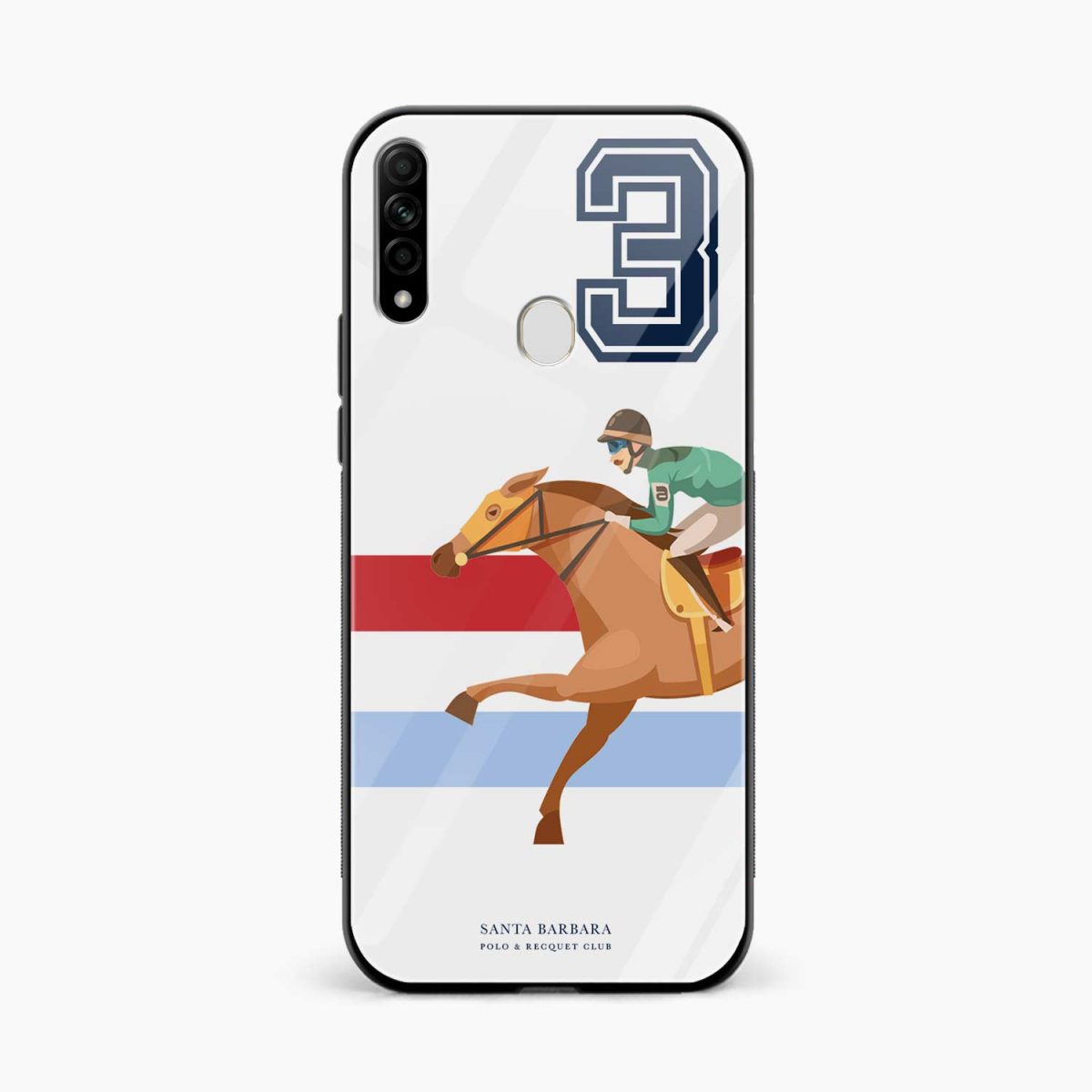 3d sant barbara polo front view oppo a31 back cover