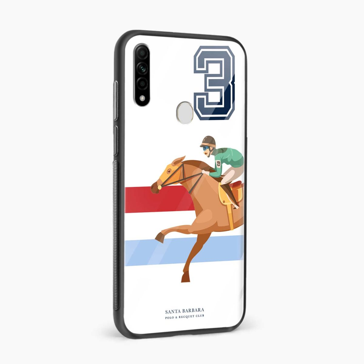 3d sant barbara polo side view oppo a31 back cover
