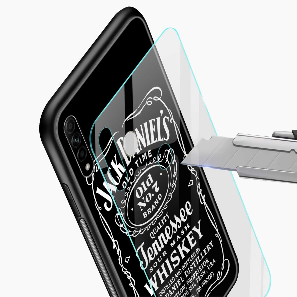 jack daniels whiskey glass view oppo a31 back cover