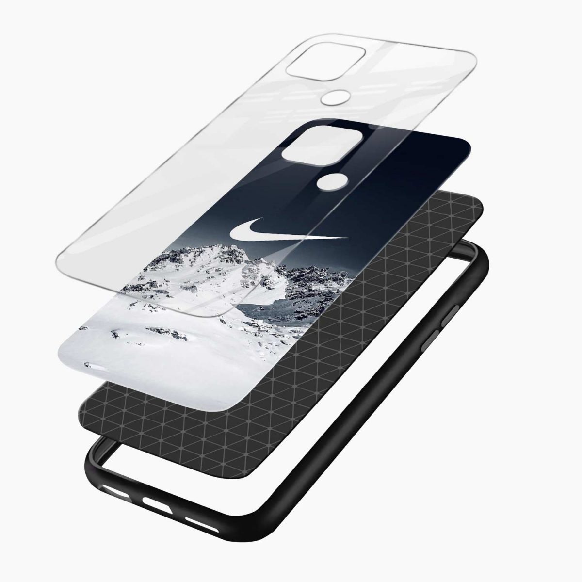 nike mountains layers view oppo a15 back cover