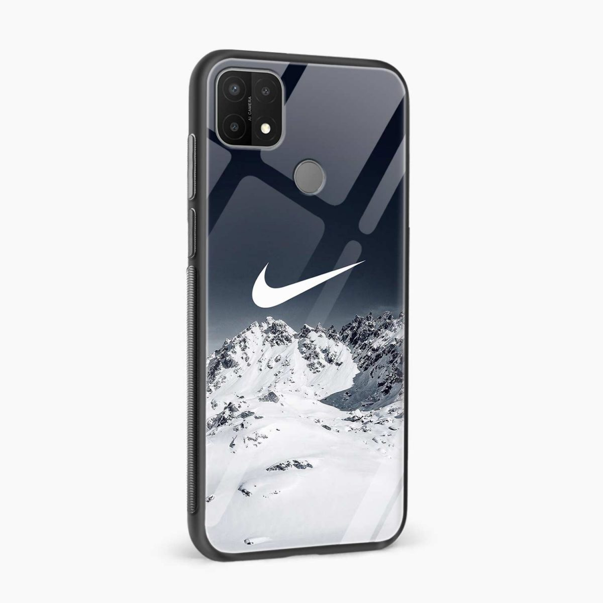 nike mountains side view oppo a15 back cover
