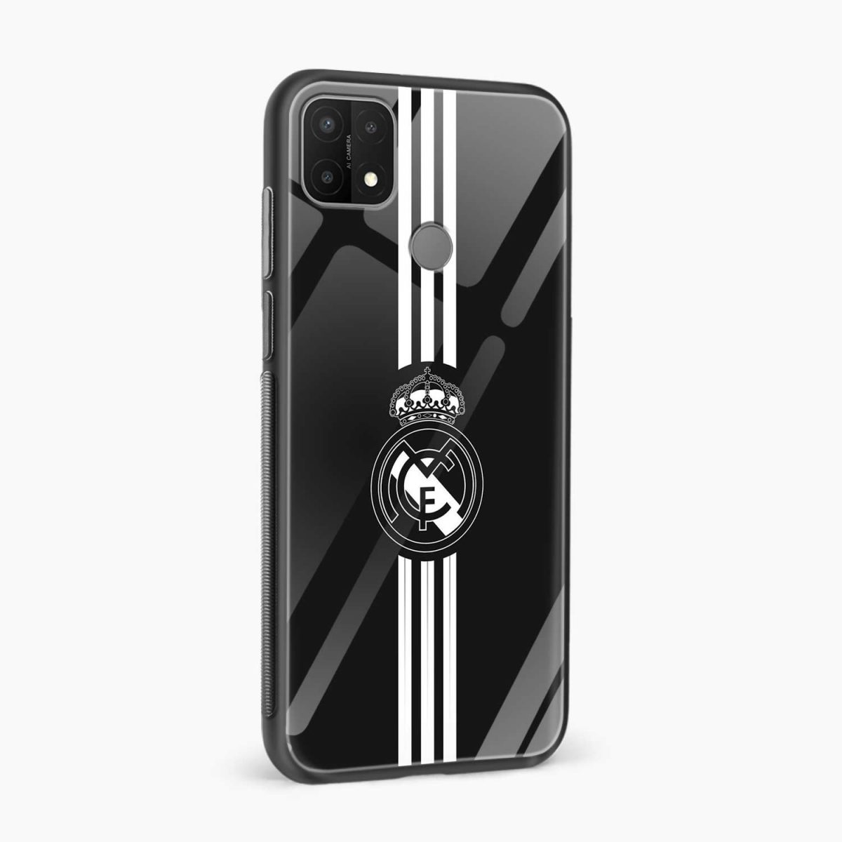 real madrid cf side view oppo a15 back cover