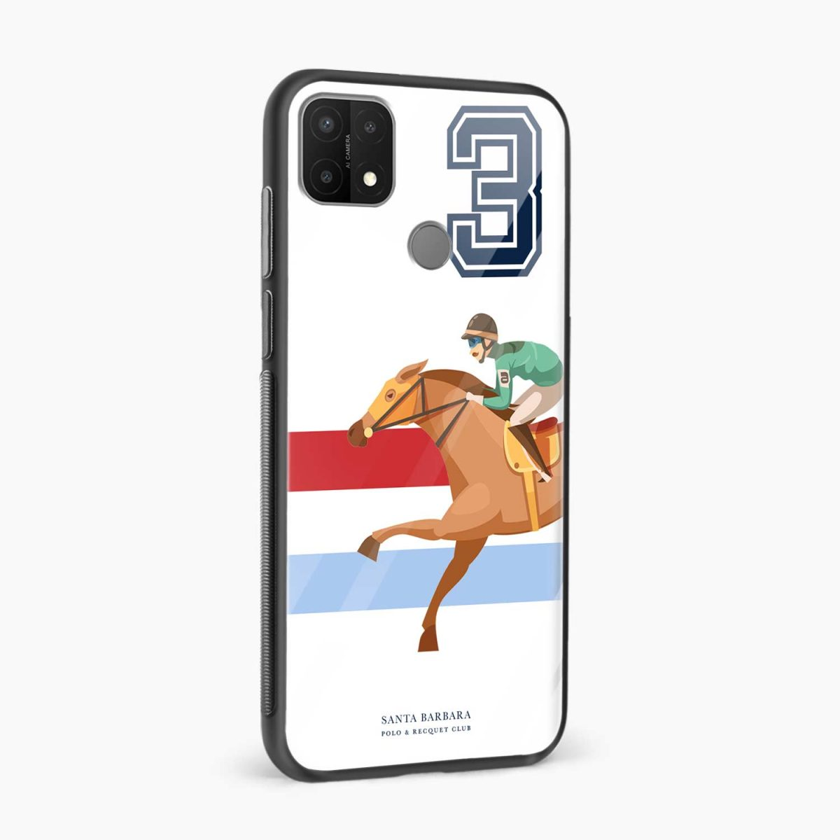 3d sant barbara polo side view oppo a15 back cover