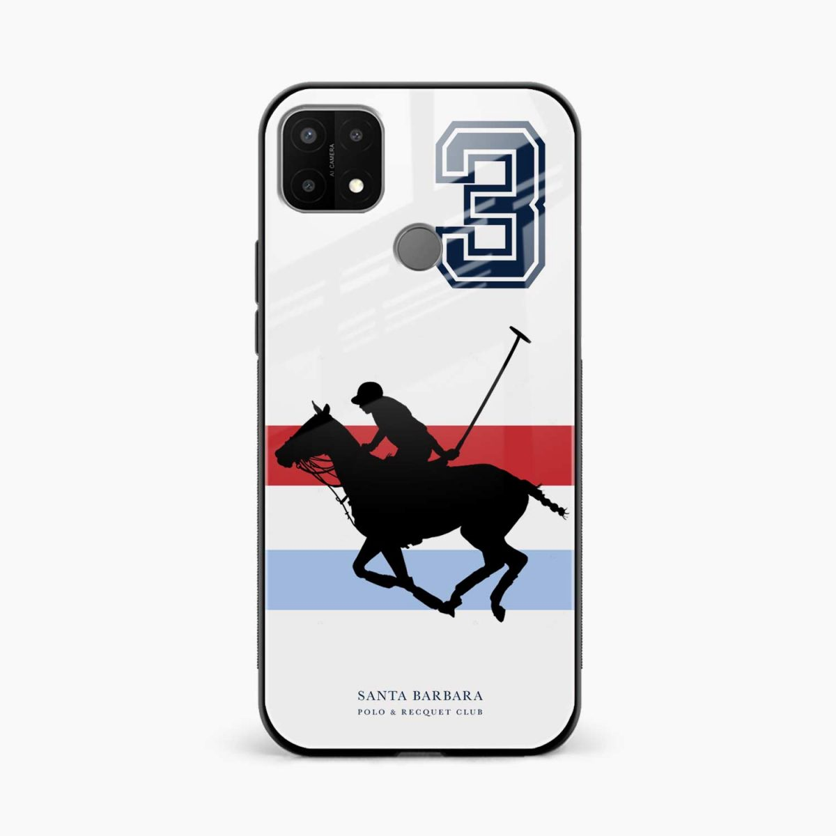 sant barbara polo front view oppo a15 back cover