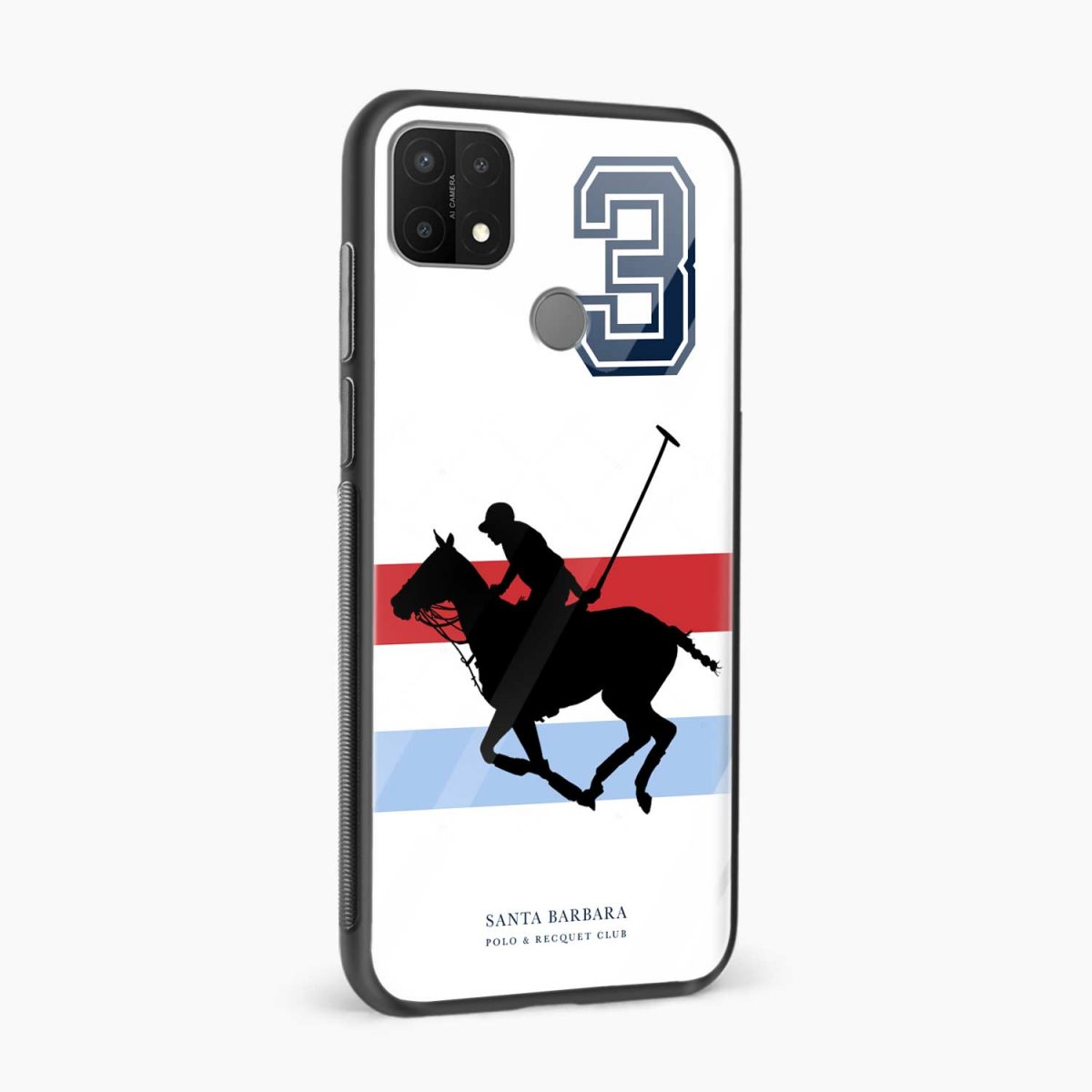 sant barbara polo side view oppo a15 back cover