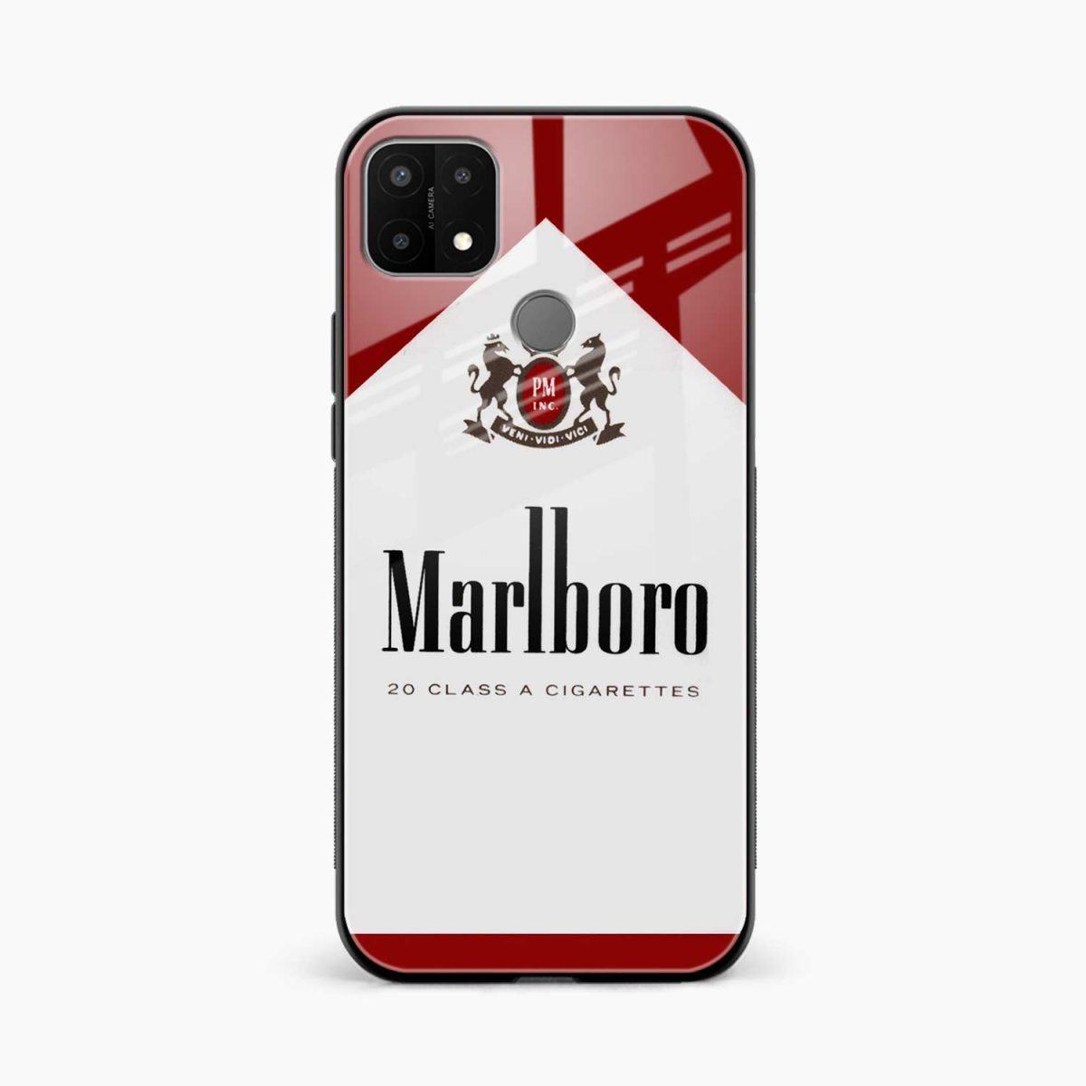 marlboro cigarette box front view oppo a15 back cover