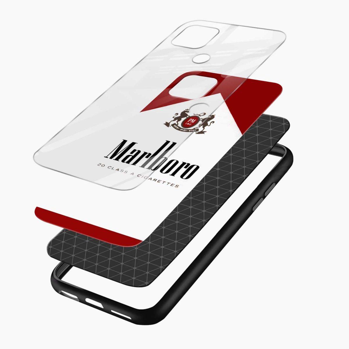 marlboro cigarette box layers view oppo a15 back cover