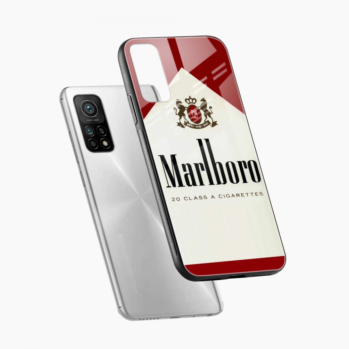 marlboro cigarette box xiaomi mi 10t pro back cover diagonal view