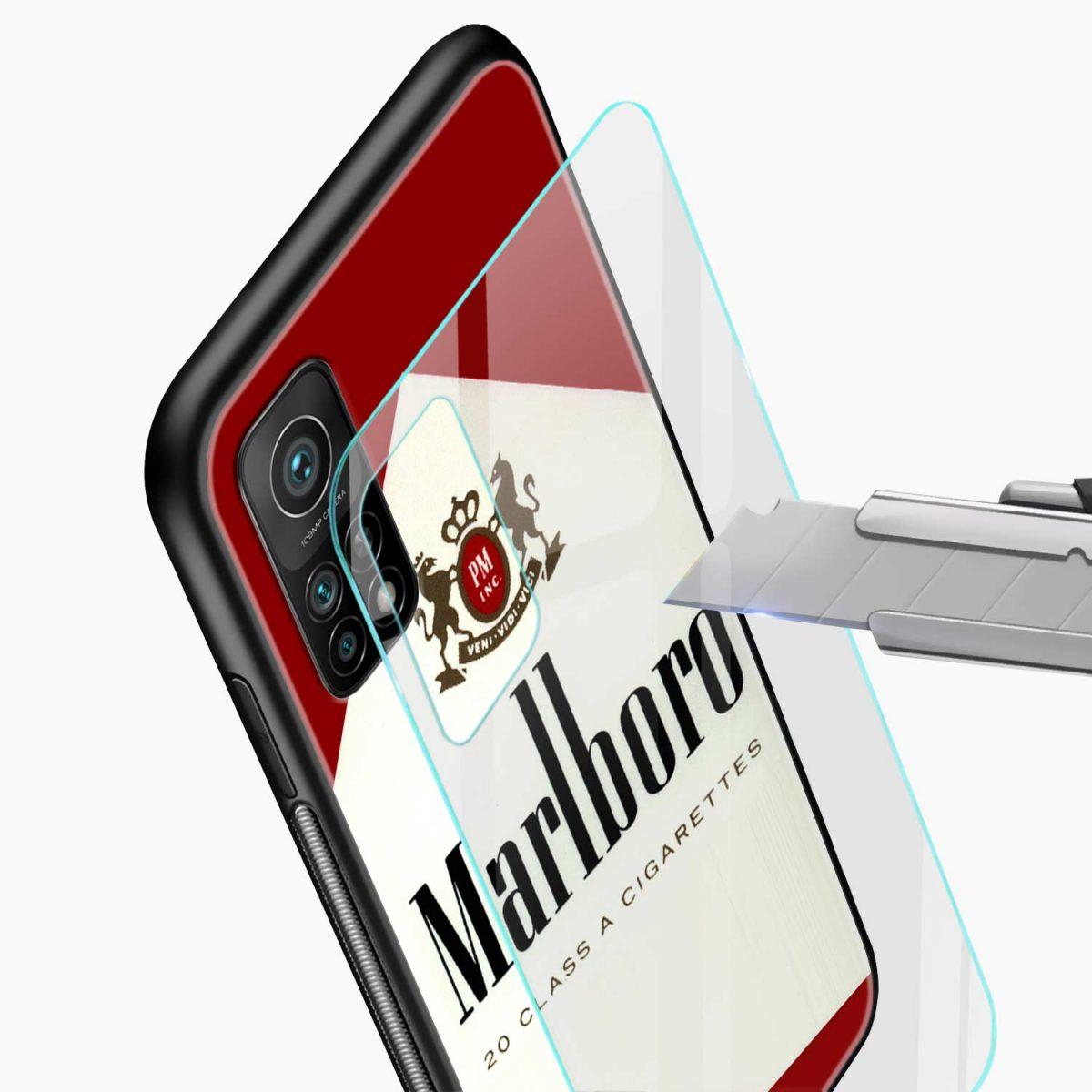 marlboro cigarette box xiaomi mi 10t pro back cover glass view