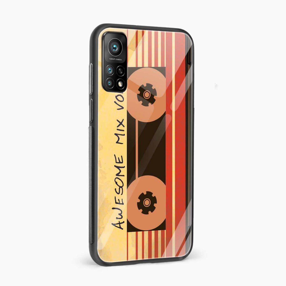 music cassette xiaomi mi 10t pro back cover side view