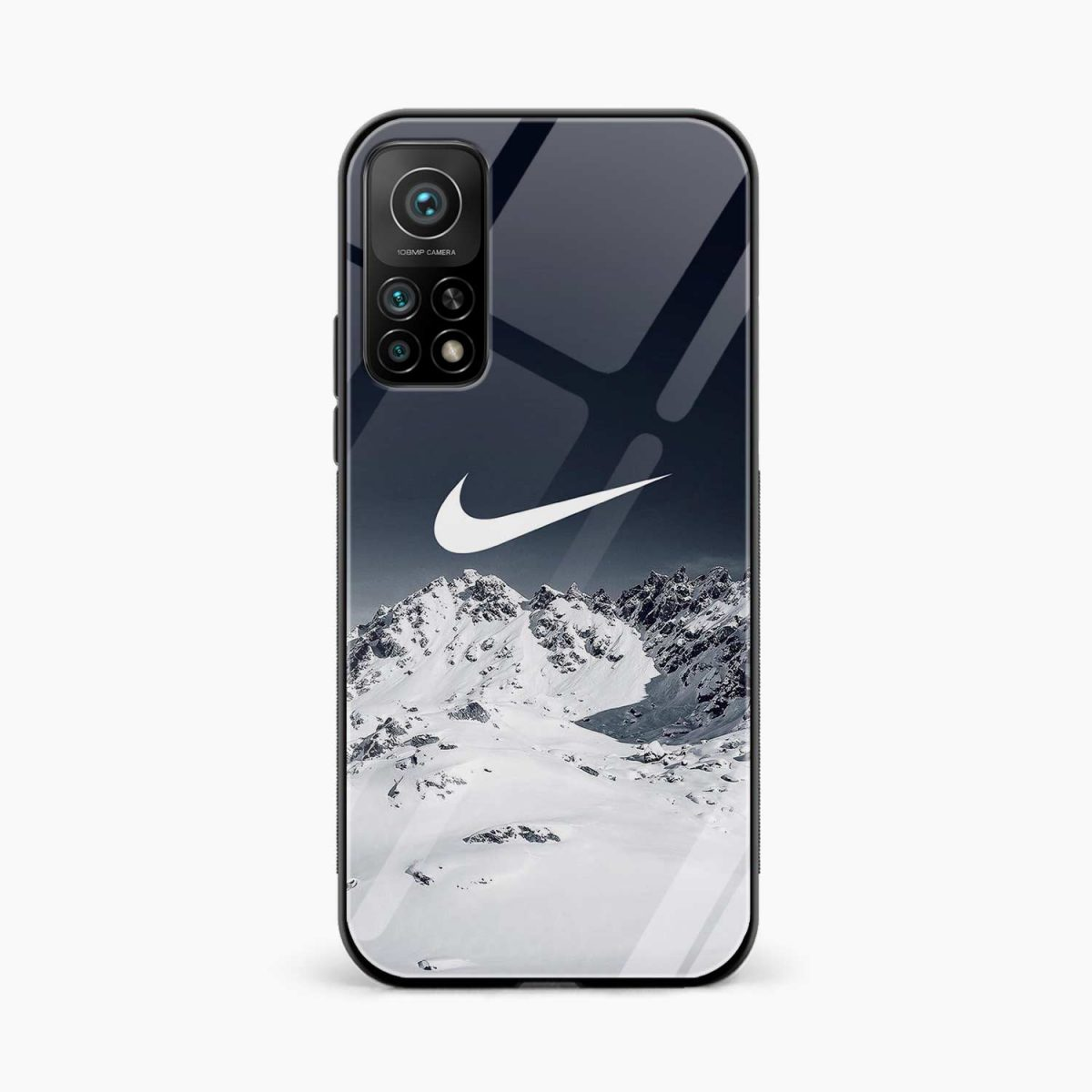 nike mountains xiaomi mi 10t pro back cover front view