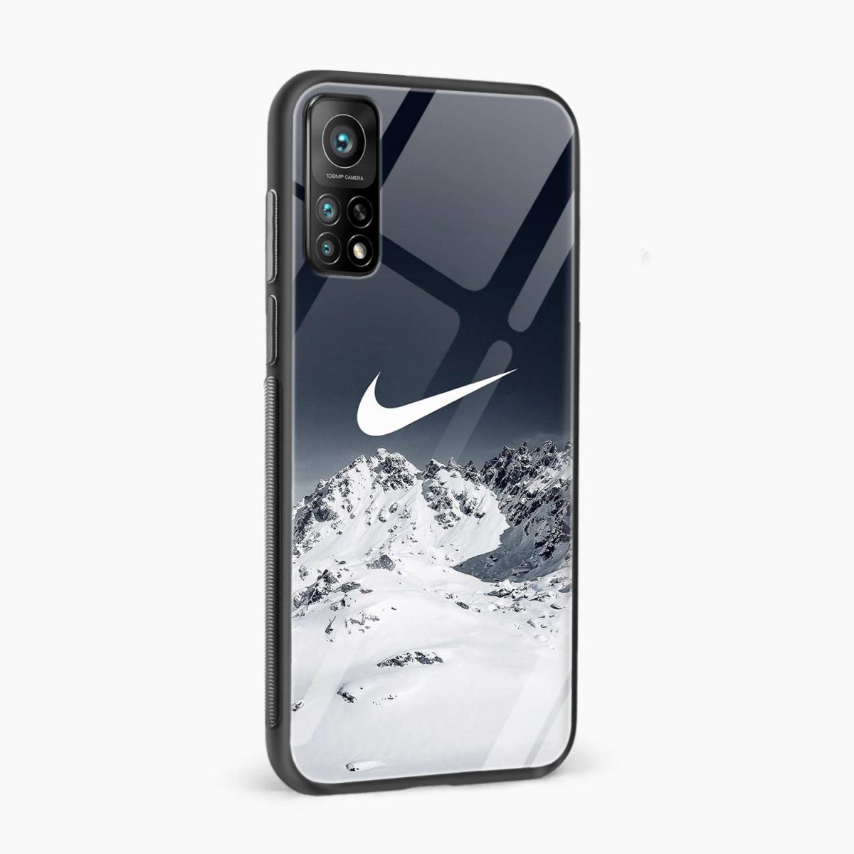 nike mountains xiaomi mi 10t pro back cover side view