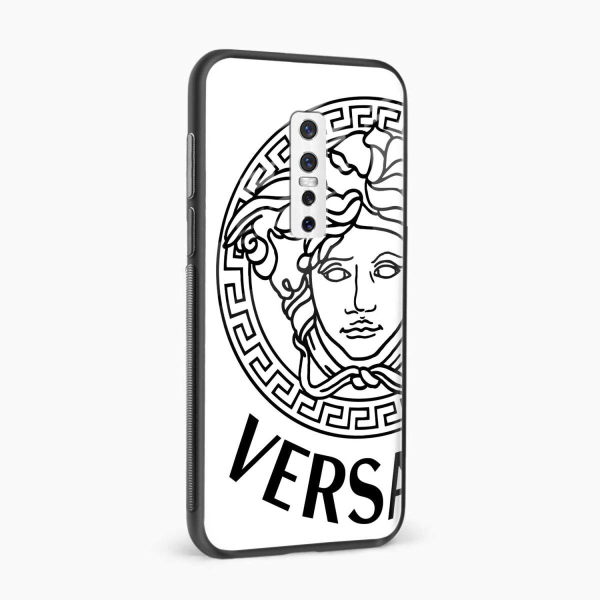 versace black white side view vivo v17 plug back cover
