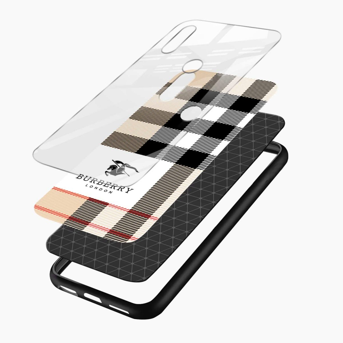 layers view redmi note7 back cover