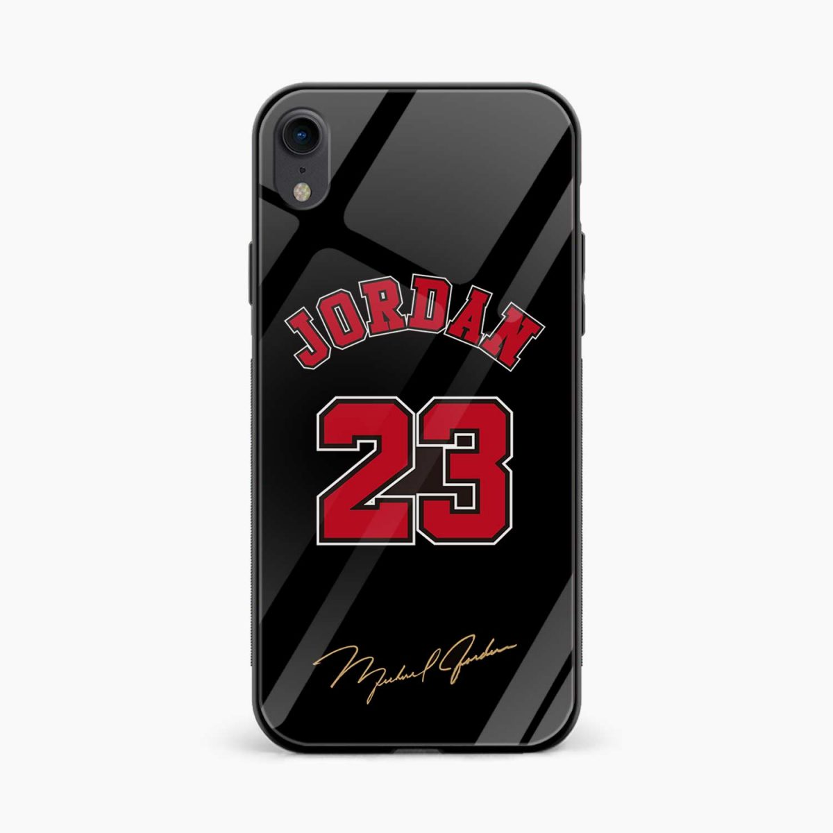 jordan 23 apple iphone xr back cover front view