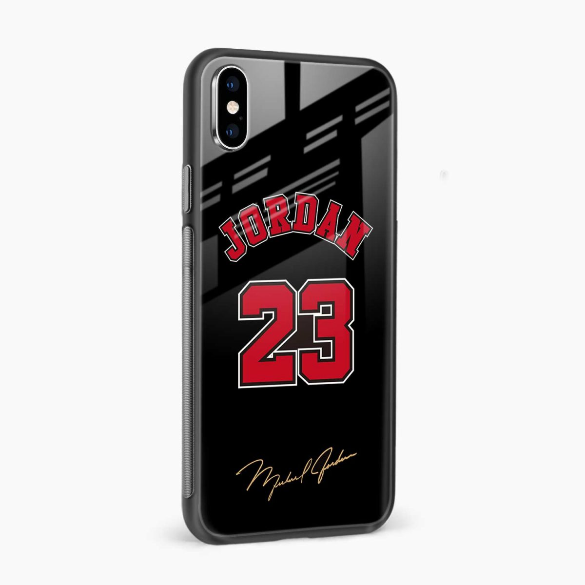 jordan 23 side view apple iphone x xs max back cover