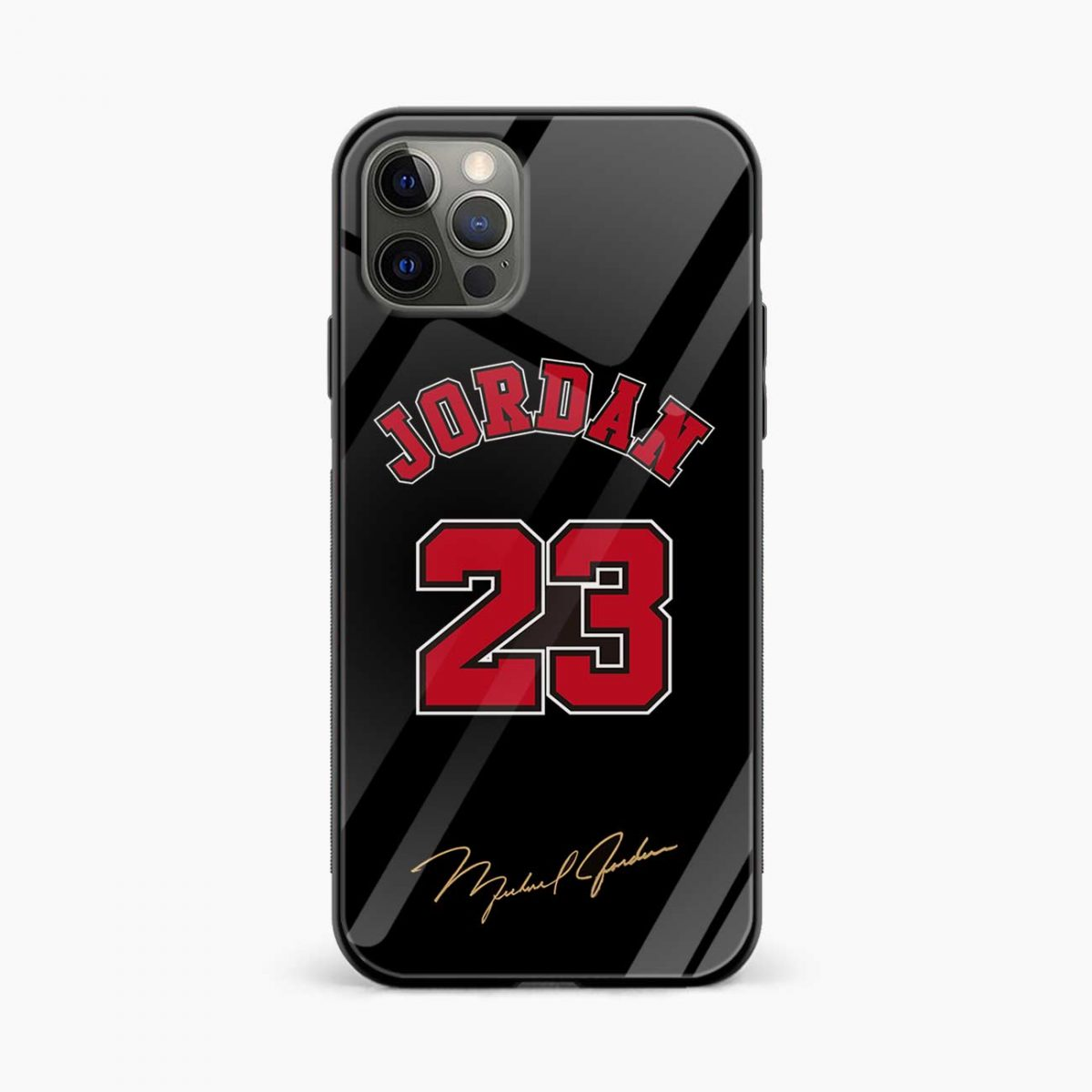 jordan 23 iphone pro back cover front view