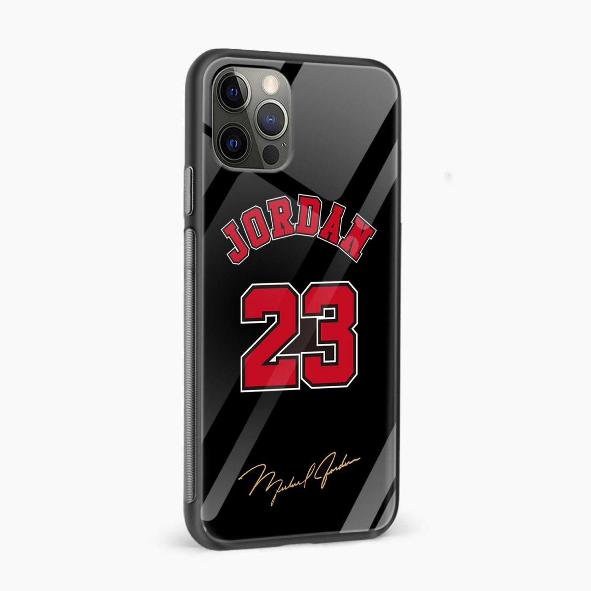 jordan 23 iphone pro back cover side view
