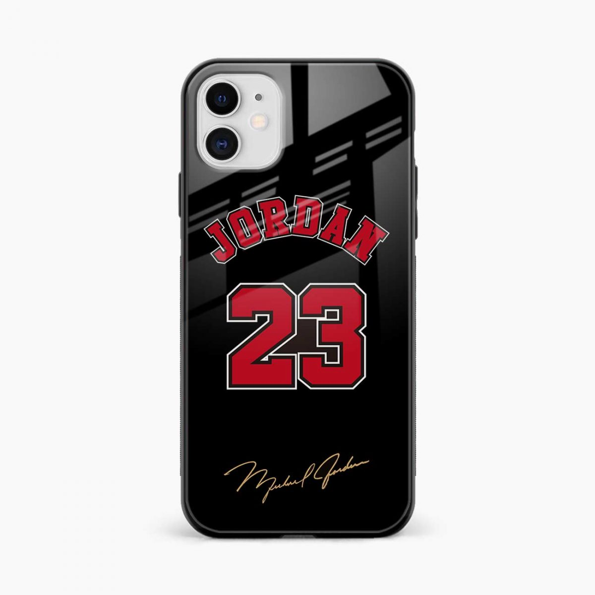 jordan 23 iphone back cover front view