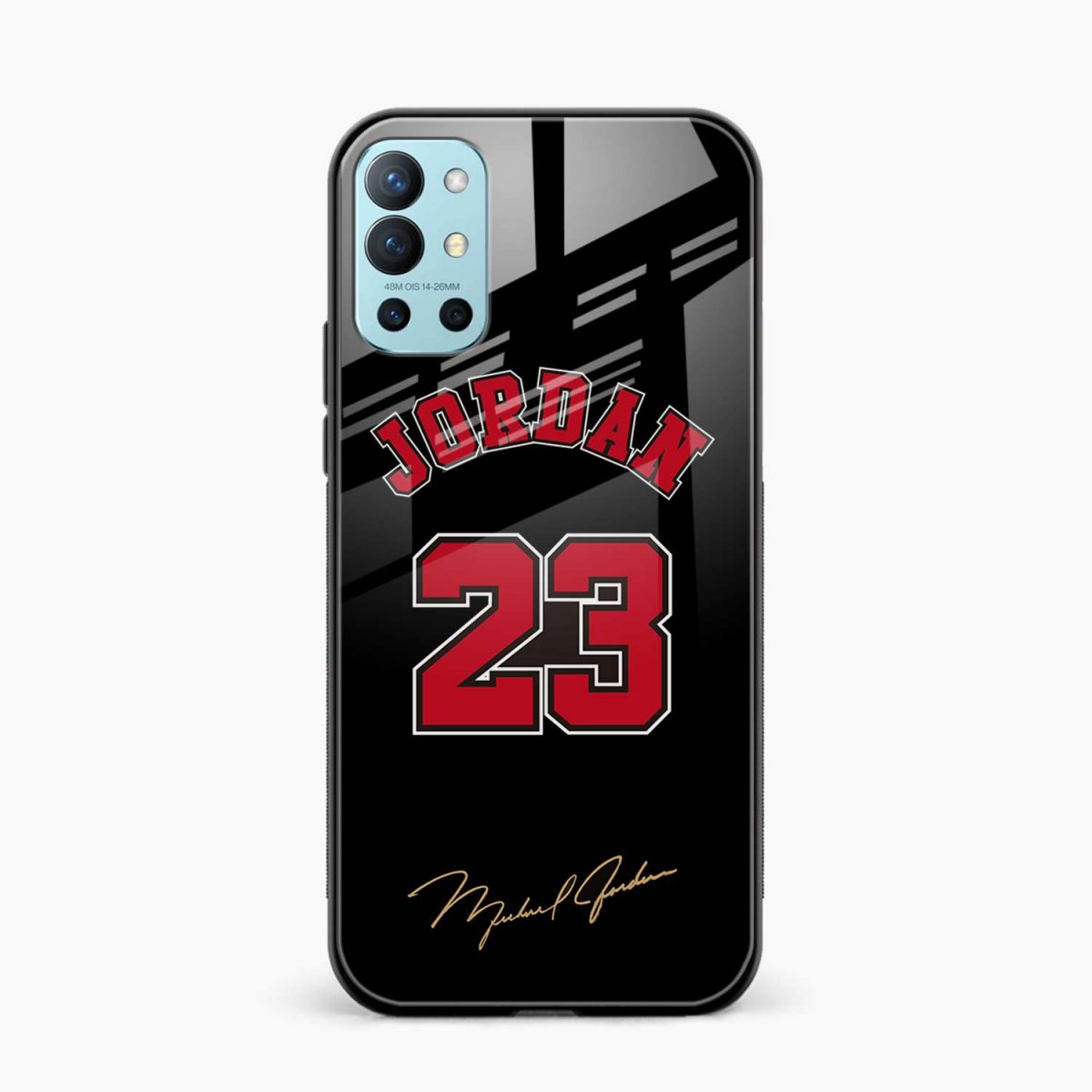 jordan 23 front view oneplus 9r back cover