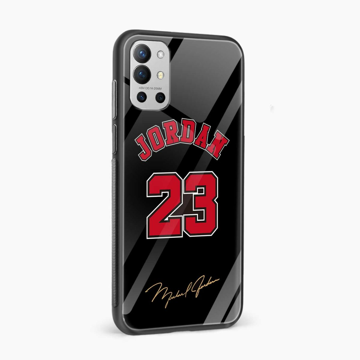 jordan 23 side view oneplus 9r back cover