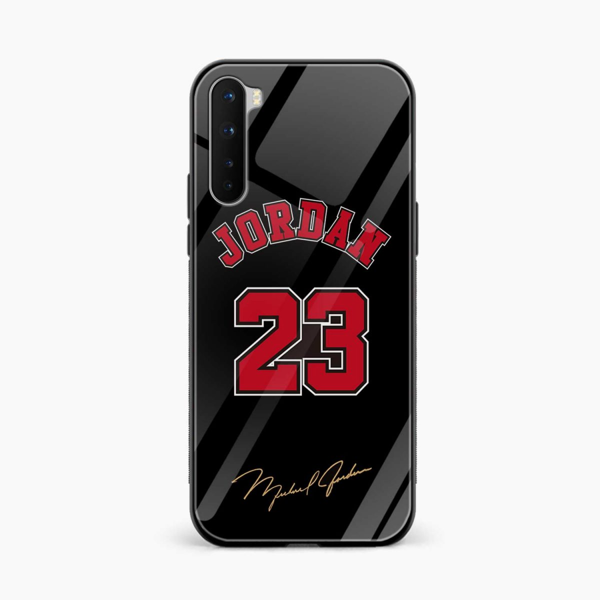 jordan 23 front view oneplus nord back cover