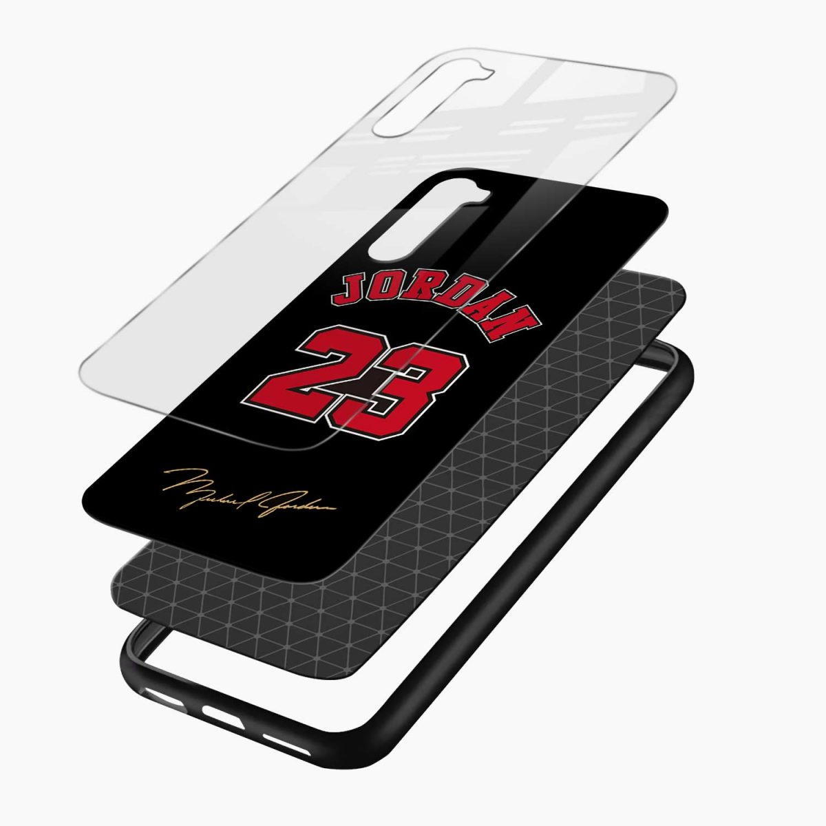 jordan 23 layers view oneplus nord back cover