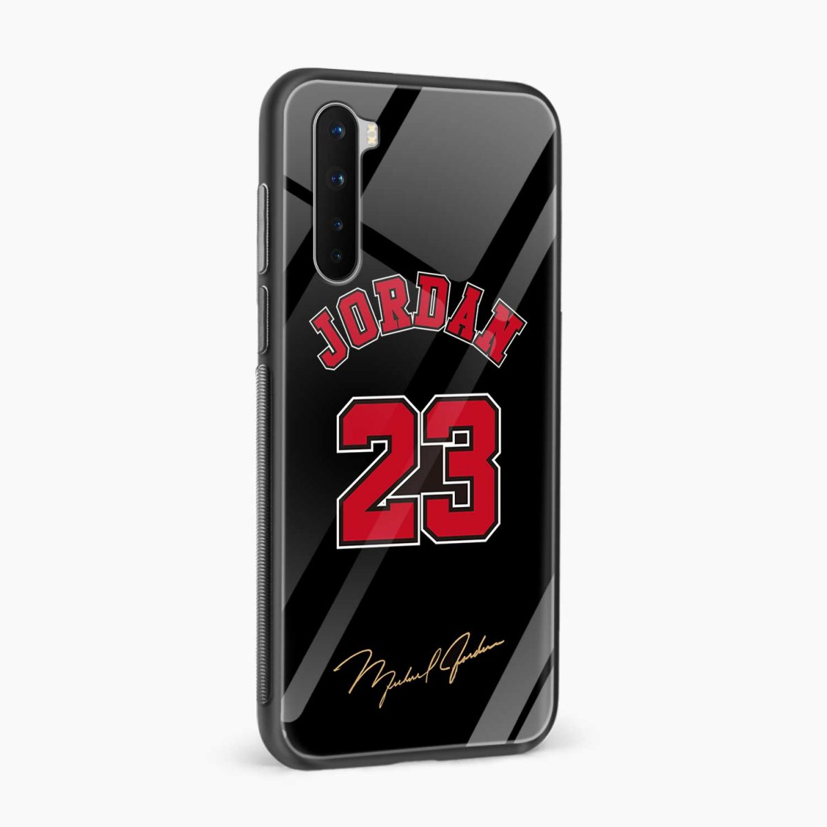 jordan 23 side view oneplus nord back cover