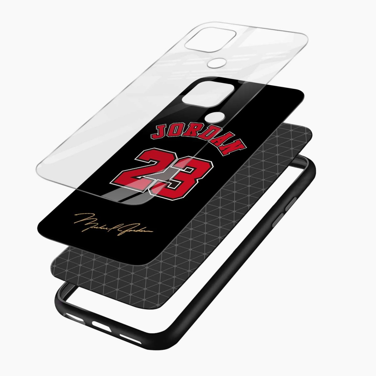 jordan 23 layers view oppo a15 back cover
