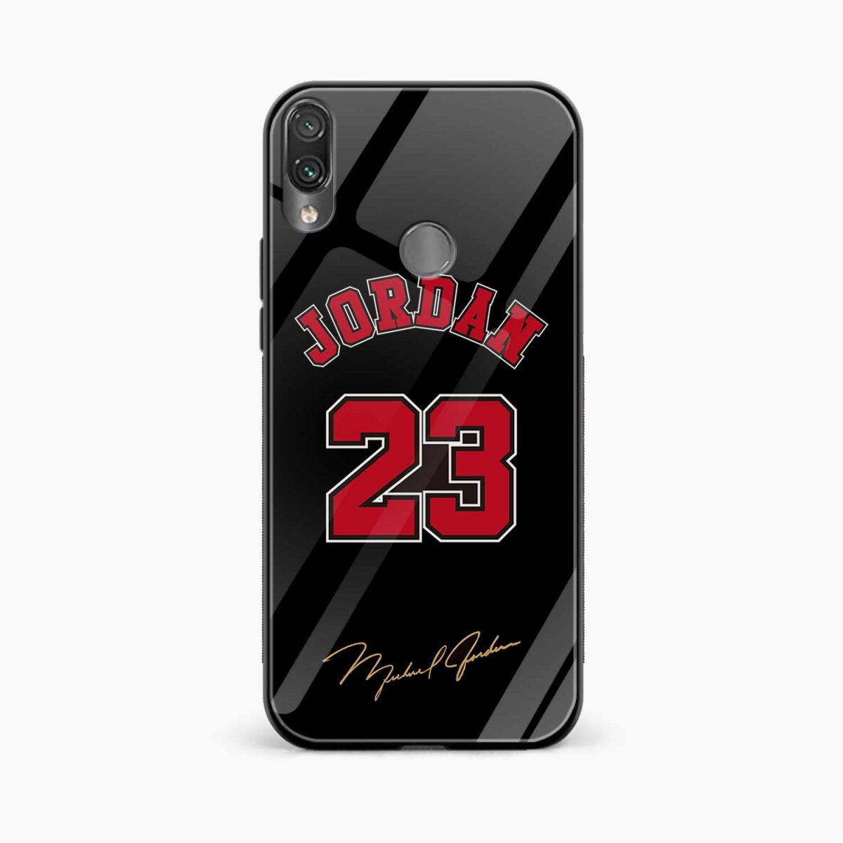 jordan 23 front view redmi note 7 back cover